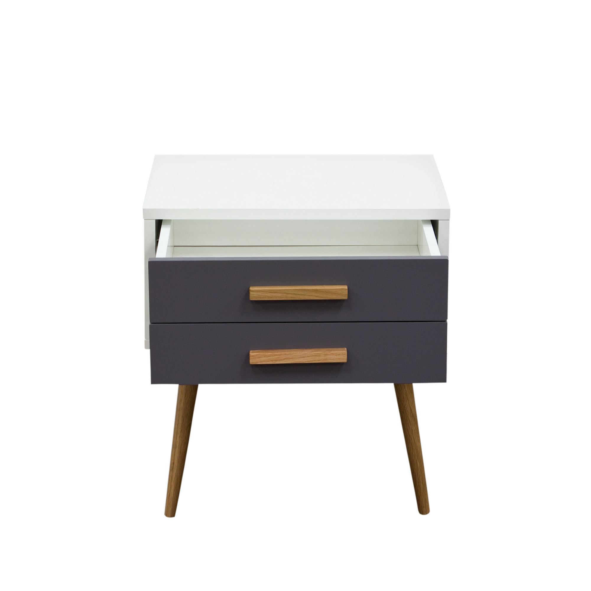 tangent drawer accent table white top grey drawers oak legs tangentetwhgr coffee tray solid tables slim telephone heavy duty umbrella base glass nesting bathroom wall clock yellow