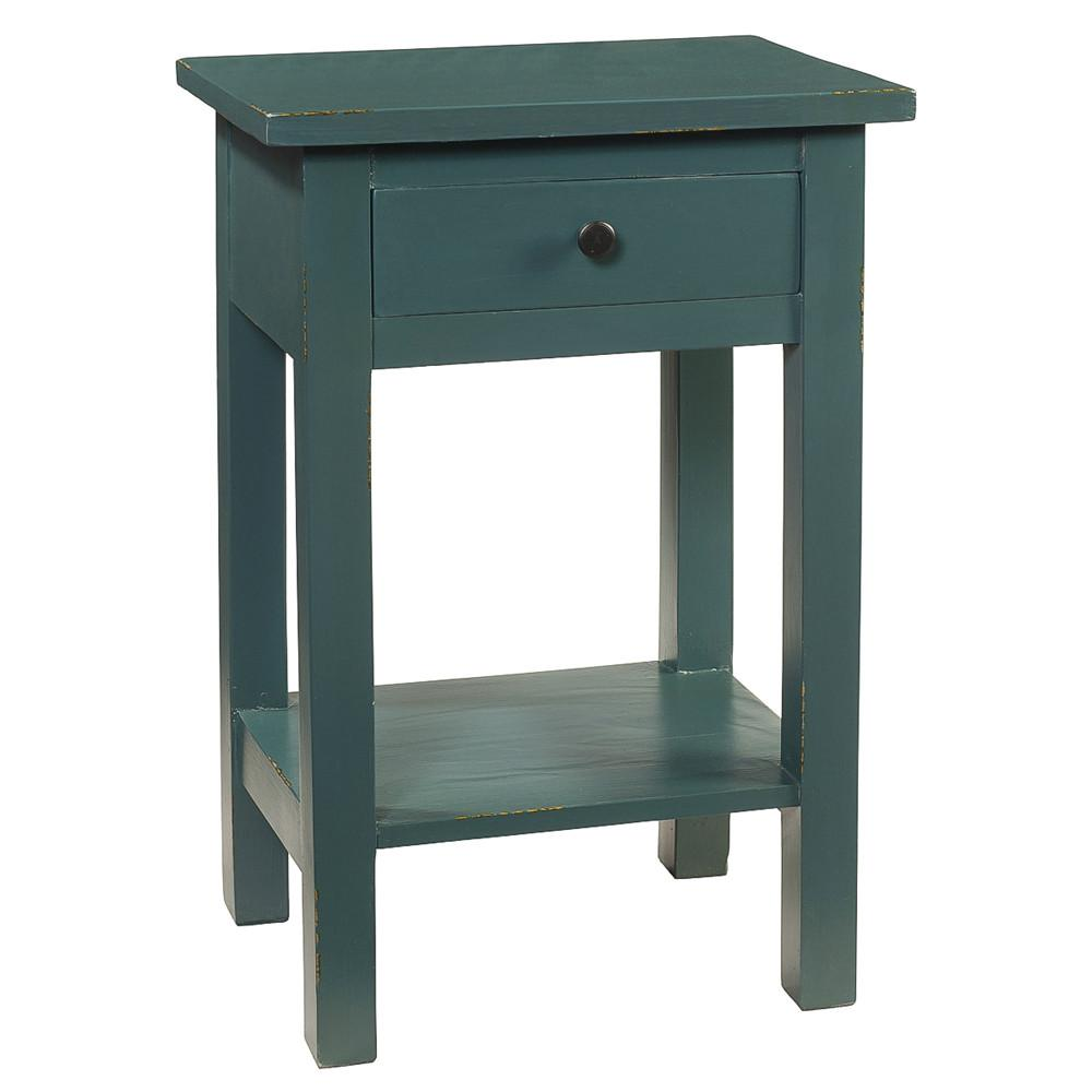 tarakan end table ocean green wrightwood furniture small space accent quilted runners brown metal coffee seater patio set solutions mango wood armoire desk steinway white mirrored