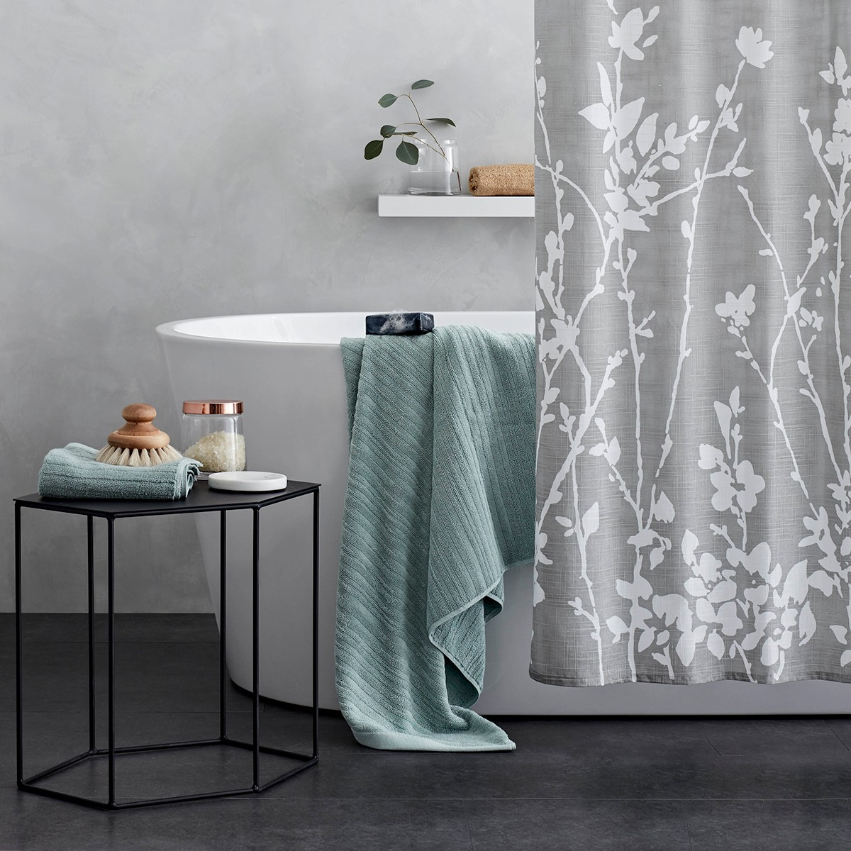 target debuts new project furniture and home decor love bathroom accessories accent table black glass tables living room rose gold pieces for lucite console concrete outdoor