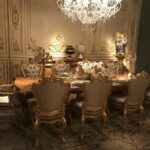 target dining room tables accent chairs furniture laundry table luxury rooms with inspiring baroque style pieces beautiful gold lamp nautical bathroom vanity lights patio 150x150