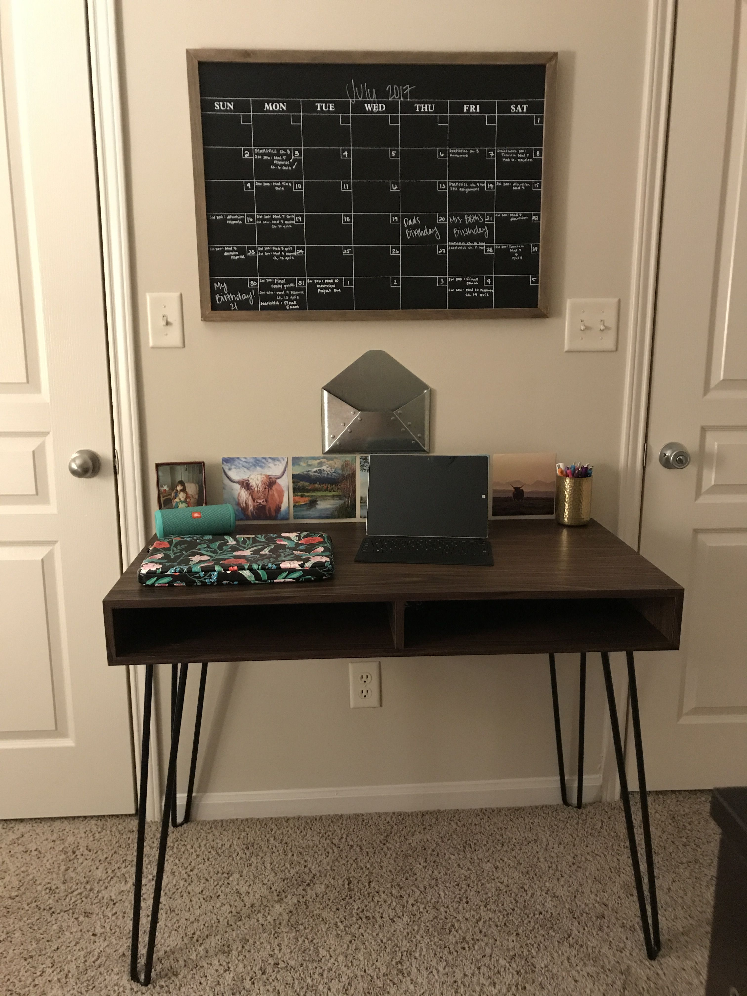 target hairpin desk walnut room essentials metal mail envelop accent table threshold hobby lobby chalkboard calendar kate spade laptop case microsoft surface jbl outdoor bistro