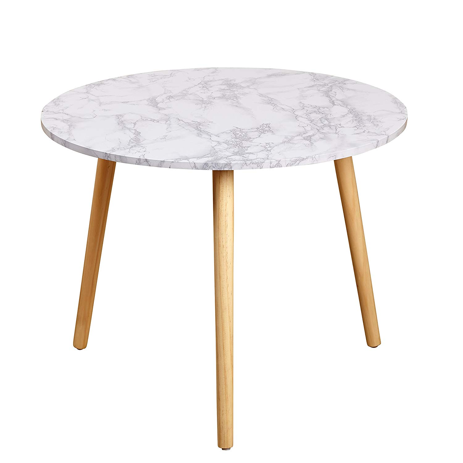 target marketing systems darcy collection mid century base accent table modern laminated faux marble top side end white kitchen dining pottery barn room chairs tables round glass