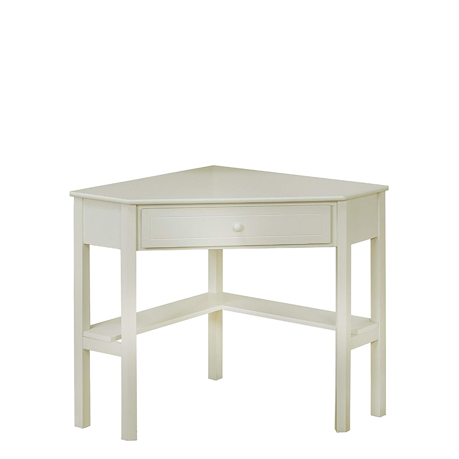 target marketing systems wood corner desk with one uujol accent table drawer and storage shelf antique white finish kitchen dining marble door threshold narrow foyer reclaimed