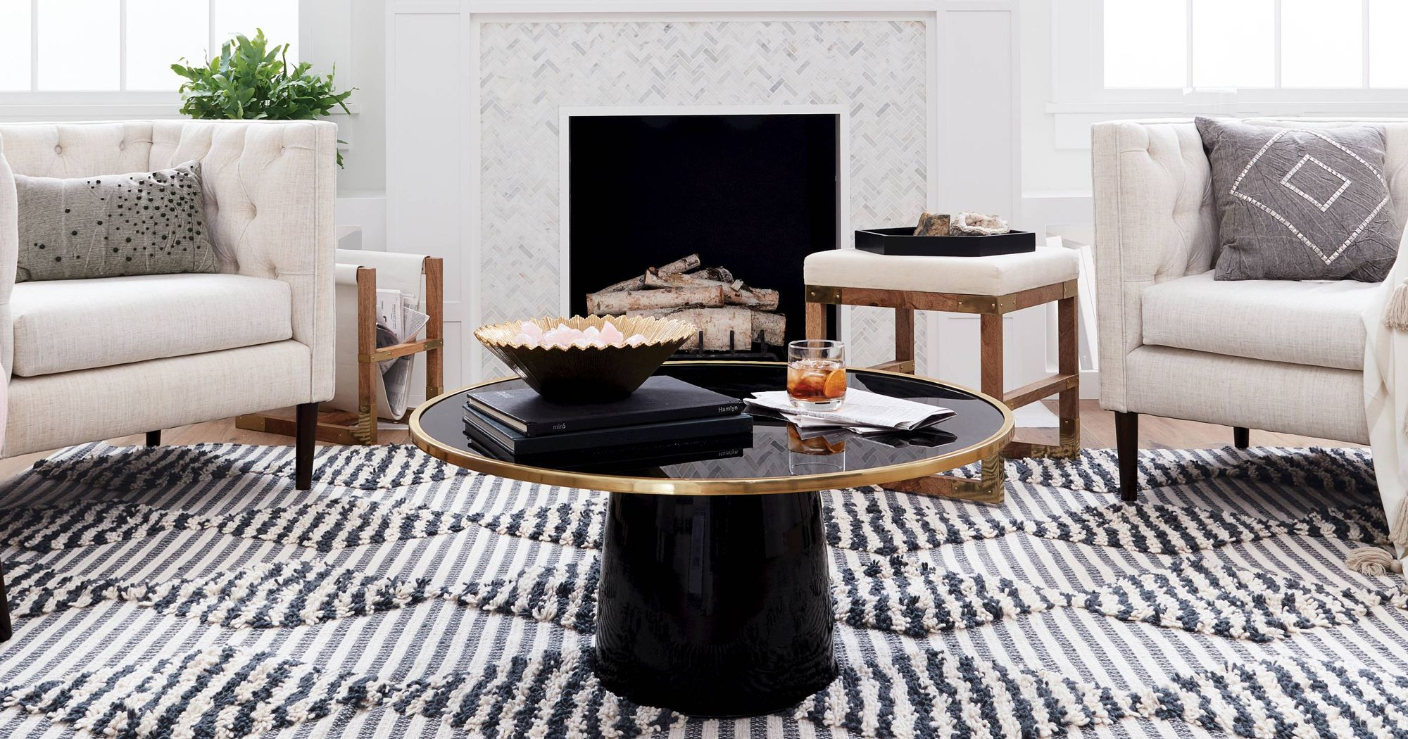 target new nate berkus collection home decor glass agate accent table beach umbrella black metal nesting tables desk lamps antique living room furniture grey dining set side cloth