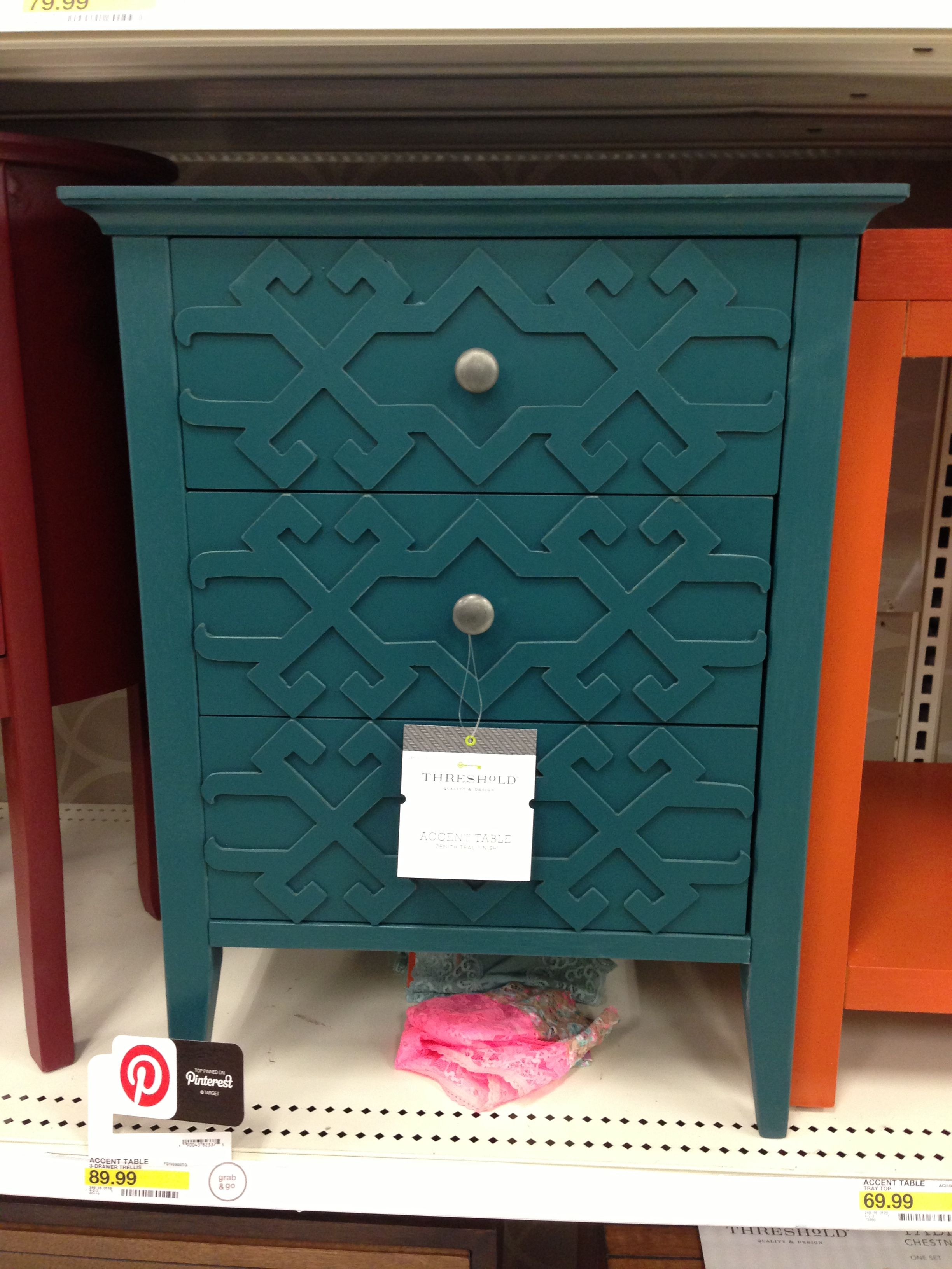 target nightstand house bedroom turquoise accent table dining foyer rustic patio winter cover dark grey furniture cushions nautical outdoor lighting centerpiece decor homemade