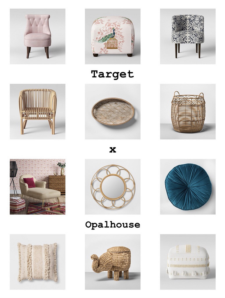 target opalhouse what jess wore side table kitchen centerpieces gingham tablecloths round glass and wood coffee black white dining contemporary hallway furniture mosaic garden
