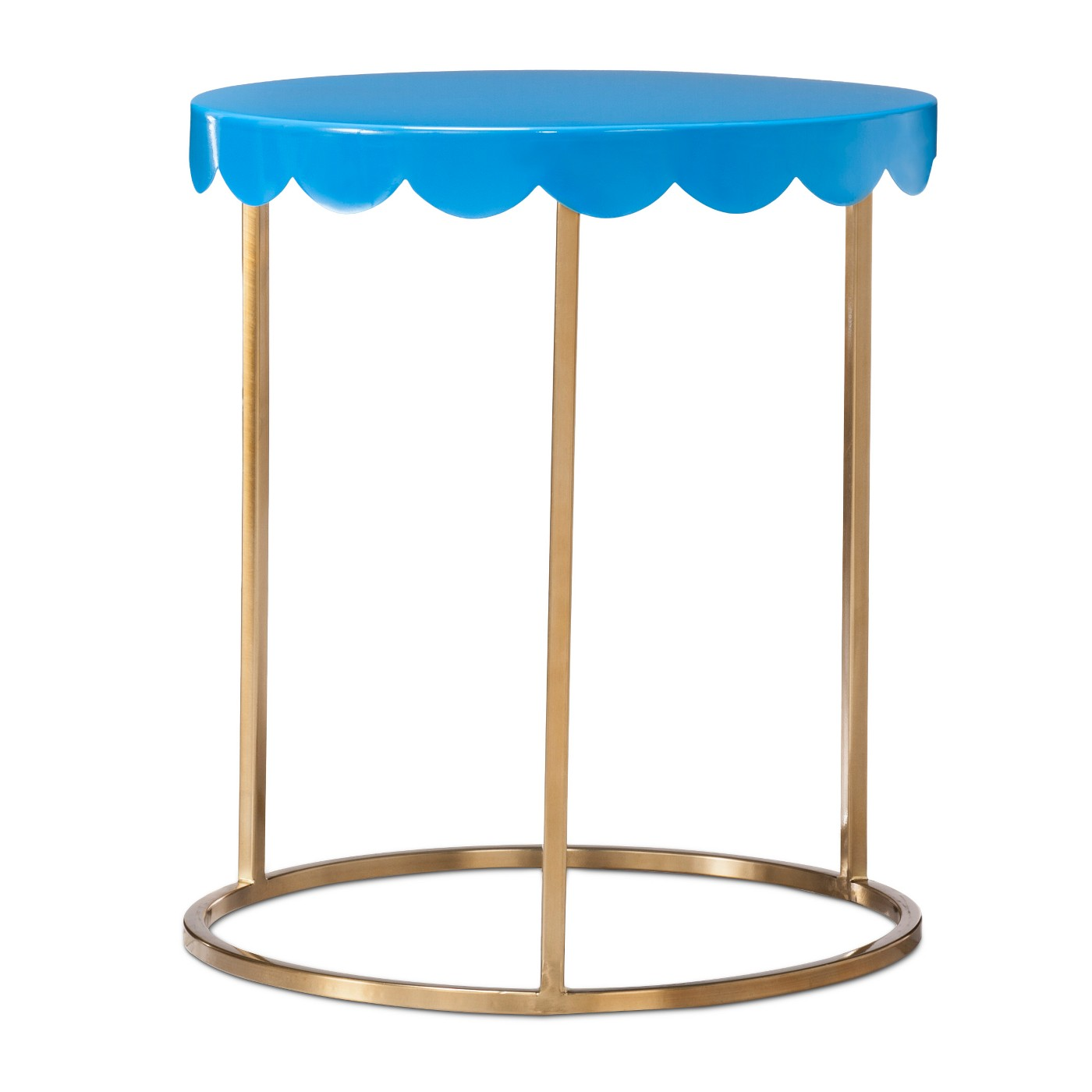target pillowfort kids accent table side night stand attach scalloped vivid blue hall decor sitting room furniture pieces fall placemats and napkins black patio drop aluminum