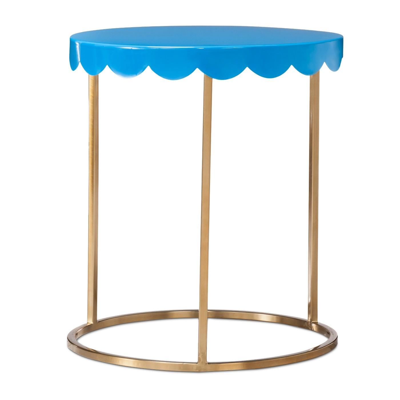 target pillowfort kids accent table side night stand attach turquoise vivid blue long mirror diy farmhouse metal tables nautical outdoor lighting small glass bedside designs