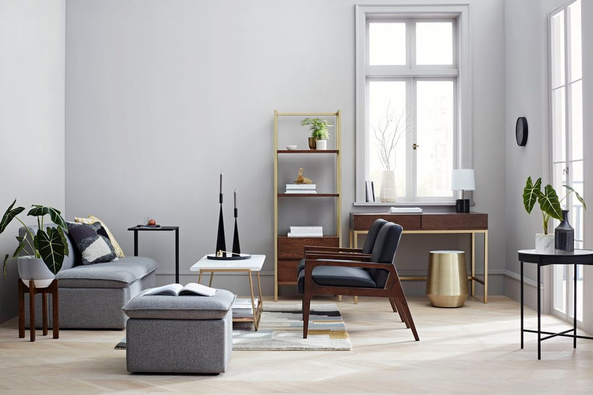 target project midcentury inspired furniture line launches curbed accent table items from upcoming tablecloth small barbecue grill rustic garden windham cabinet with drawer center