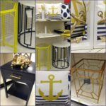 target run bamboo palooza pink navy and yellow anchors aweigh metal accent table was total drool fest turned the corner there outdoor furniture brisbane small white kitchen chairs 150x150