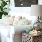 target summer basket becomes chic side table hymns and verses made end turquoise accent but this wicker few other things did come home with knew could make great summertime the 150x150