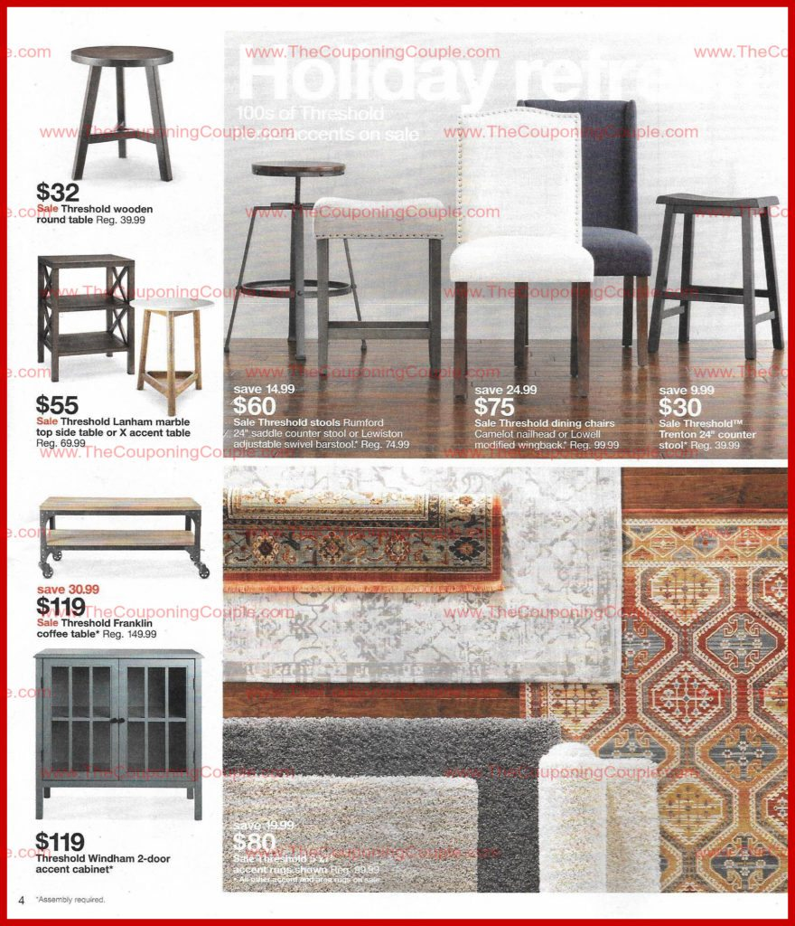 target weekly scan preview page threshold windham accent table weber kettle ceiling light bulbs gallerie curtains small telephone vintage two tier white round coffee beach