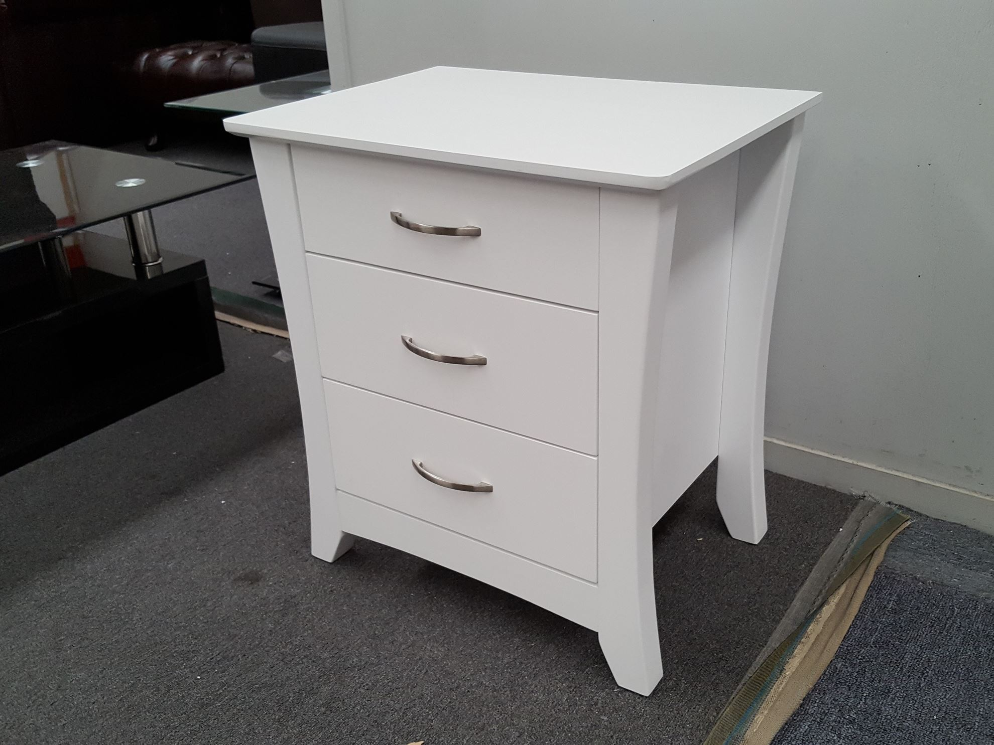 target white top side silver manning brigitte table antique dalton bedside small storage chest oak hafley retro mirrored end beem adeptus drawer console preusser black pine tables