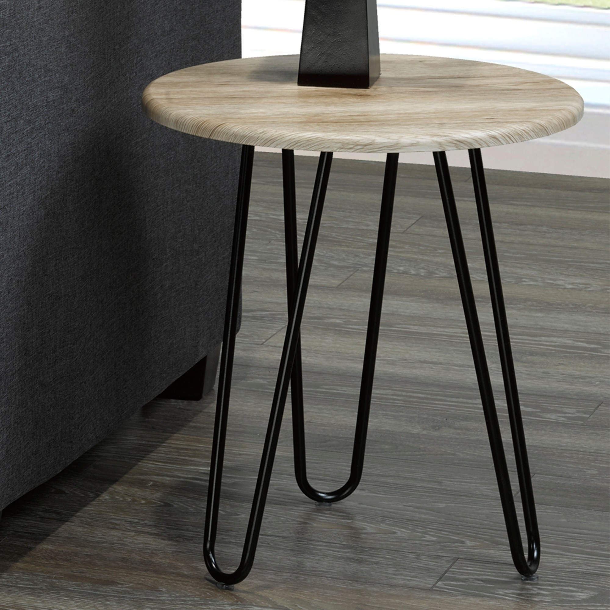 tario faux wood metal accent table free shipping today front door entry tables stanley furniture circular drop leaf end and lamps aluminum coffee white barn height foyer round