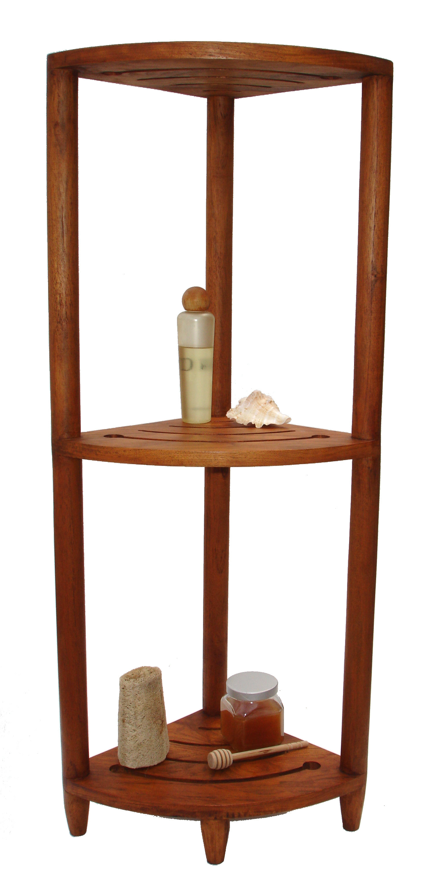 teak corner shower bench caddy round accent table good fruity drinks tall white bookshelf base silver living room accessories coffee with wheels bath and beyond area rugs