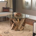 teak driftwood rustic accent table apizkwsfj uttermost glass top cocktail small chrome side distressed grey quatrefoil end with mirror foot long sofa pedestal bedside indoor barn 150x150
