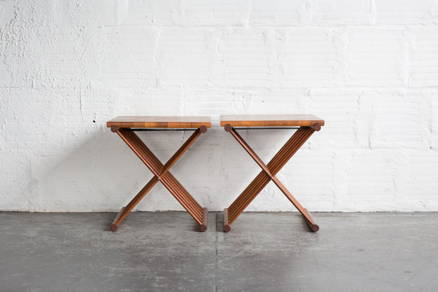 teak folding end table set the good mod tray spindle wood accent small black glass office wall cabinets target furniture coffee keter drinks spring haven round mats three piece