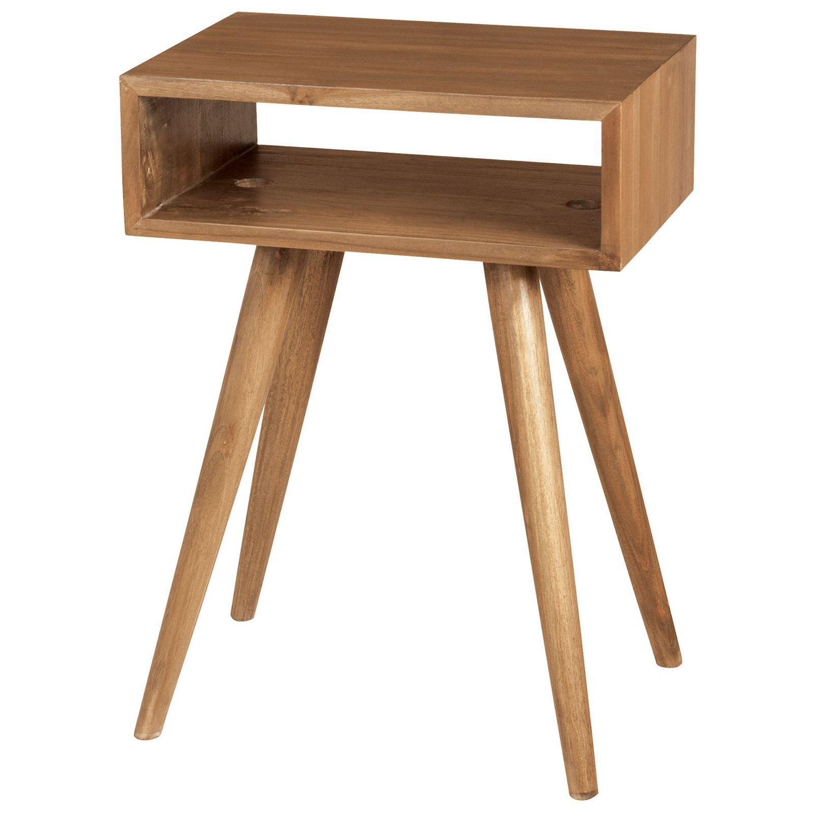 teak open box side table accent tables euro oil wood black contemporary lamps pier furniture clearance corner hall pottery barn rain drum hand painted chest drawers umbrella stand