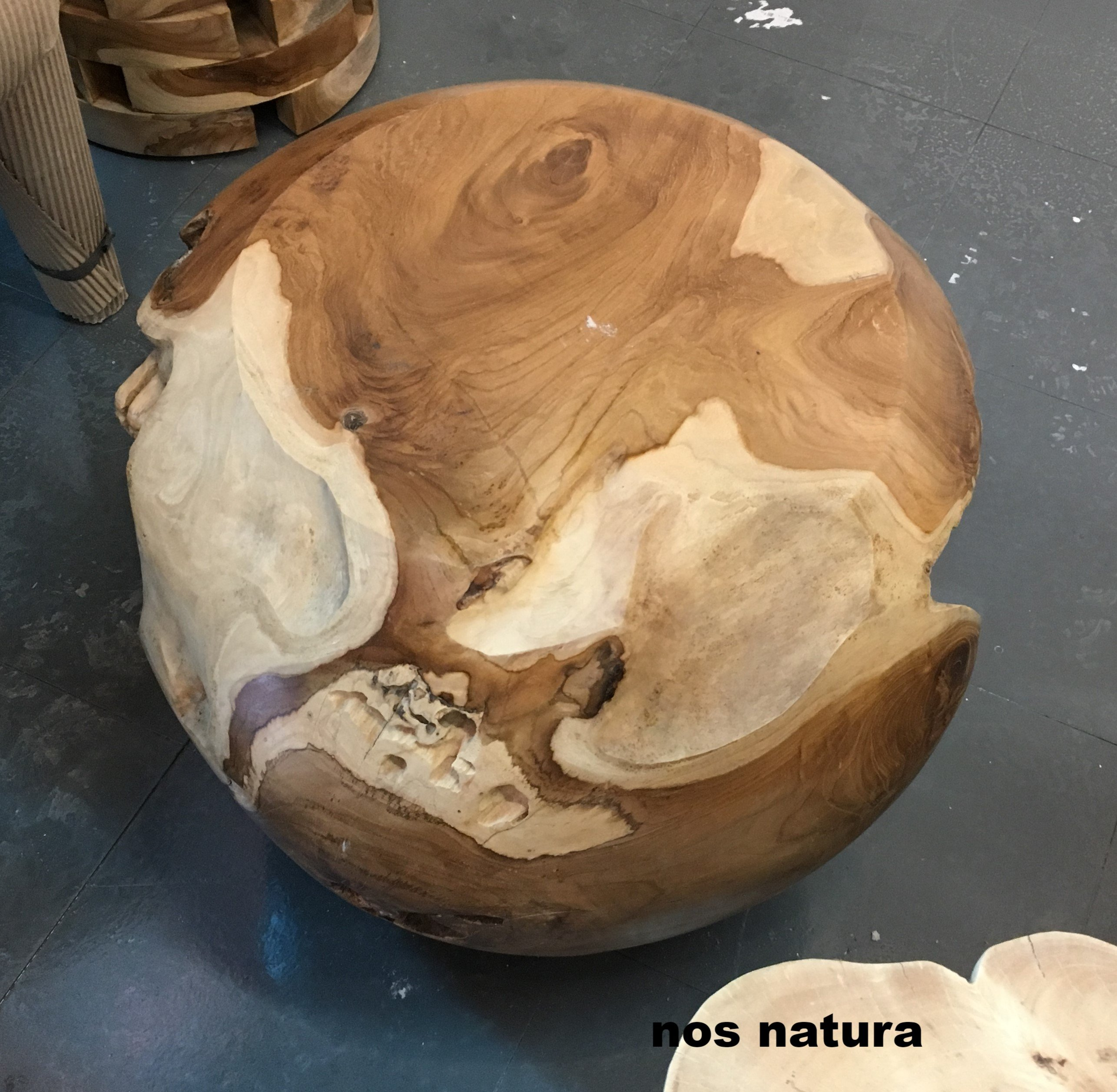 teak root ball stool coffee accent table for whole organic img ottawa seater garden and chairs glass top patio shades light coupon size small cover round wood pedestal white