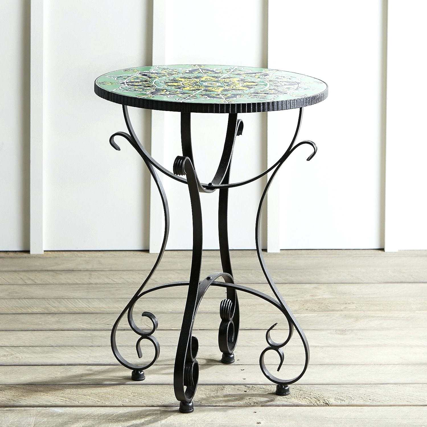 teal accent table small round target fretwork glass patio side trestle dining ashley furniture reviews sitting room tables matching lamps hall with drawers west elm rabbit lamp