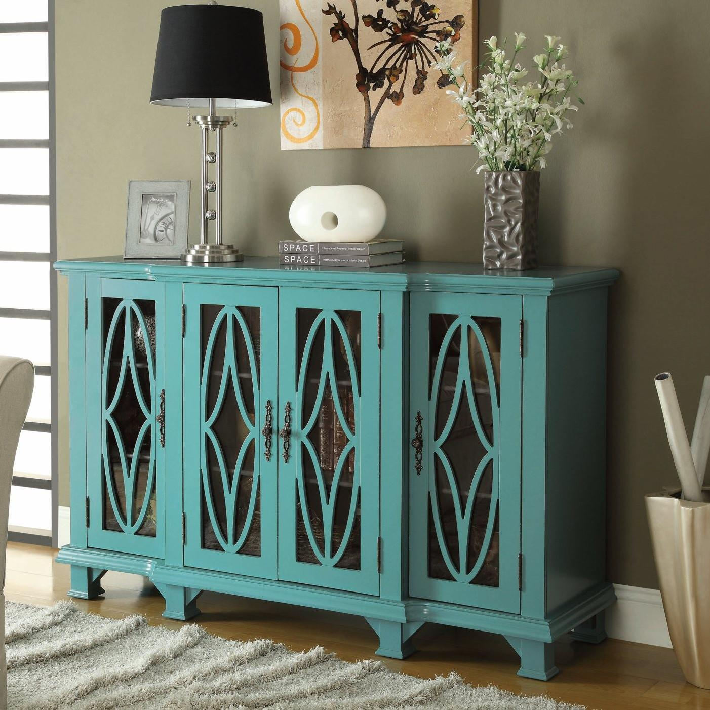 teal blue cabinet coco furniture gallery furnishing dreams accent table slim glass console outdoor with storage designer round tablecloths small legs occasional breakfast bar and