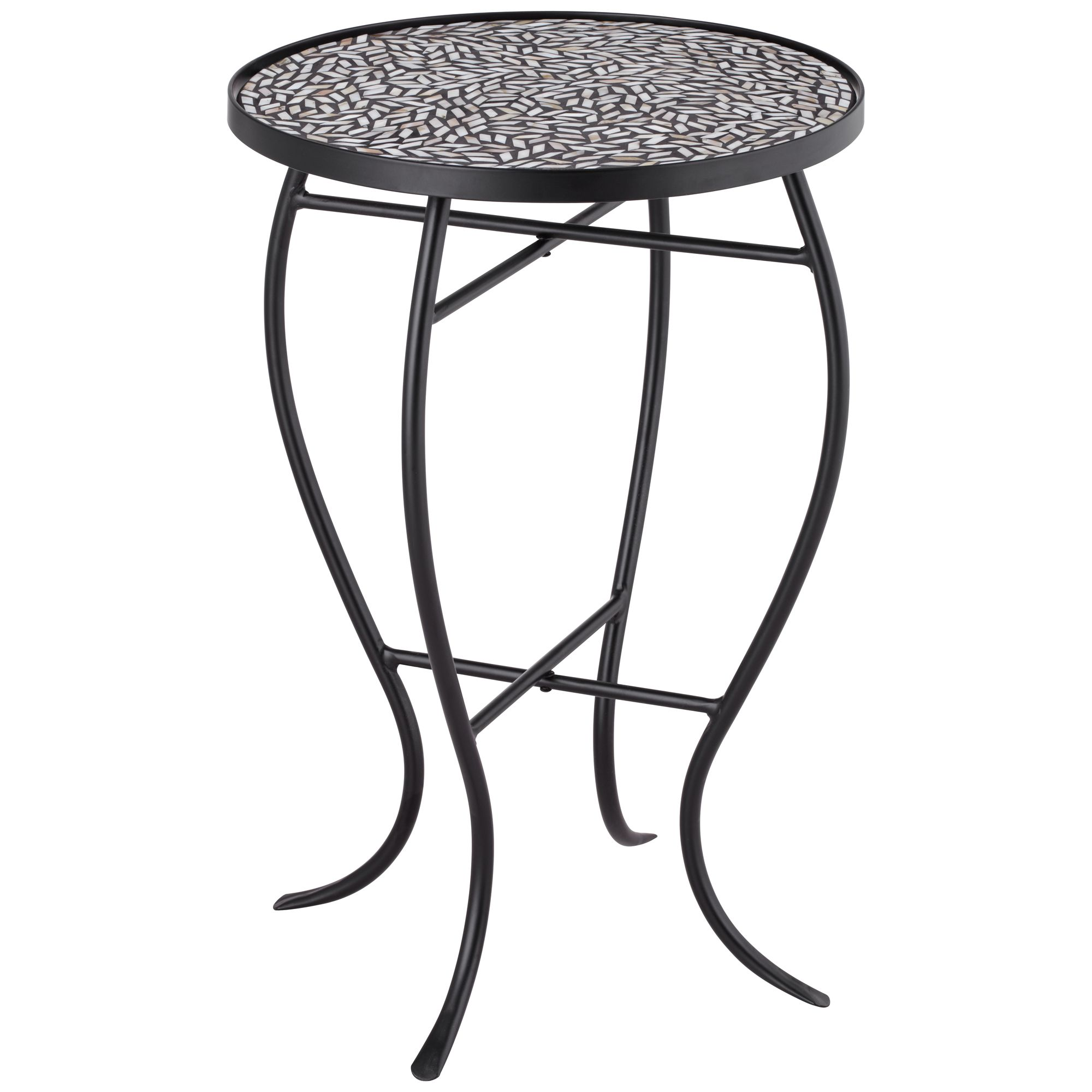 teal island designs zaltana mosaic outdoor accent table types furniture victorian coffee raw wood side contemporary trestle dining oval tablecloth large umbrellas black gloss