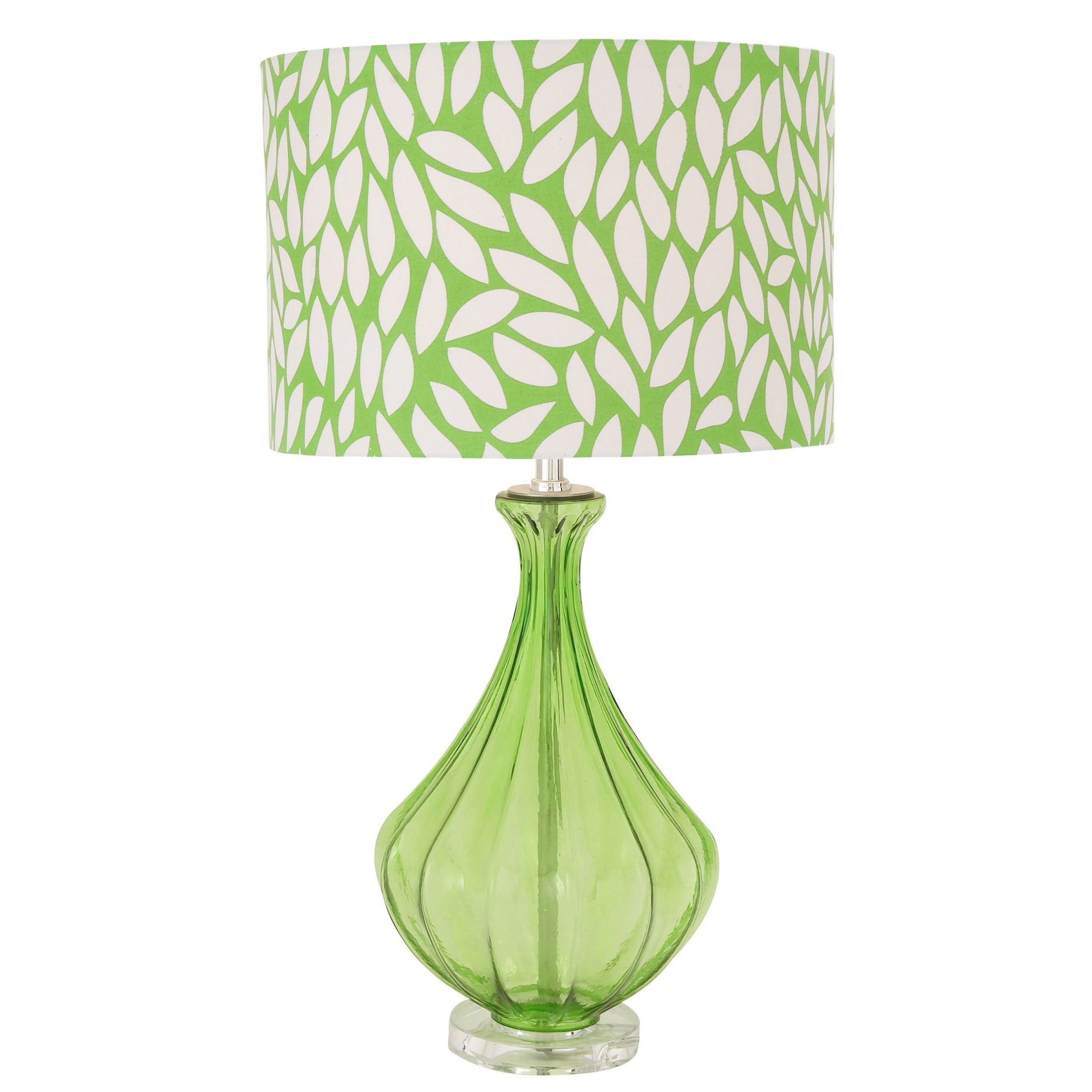 teen table lamps new cool green contemporary glass acrylic accent modern furniture design round drum side narrow decorative home decor inspiration pacific bar west elm safavieh
