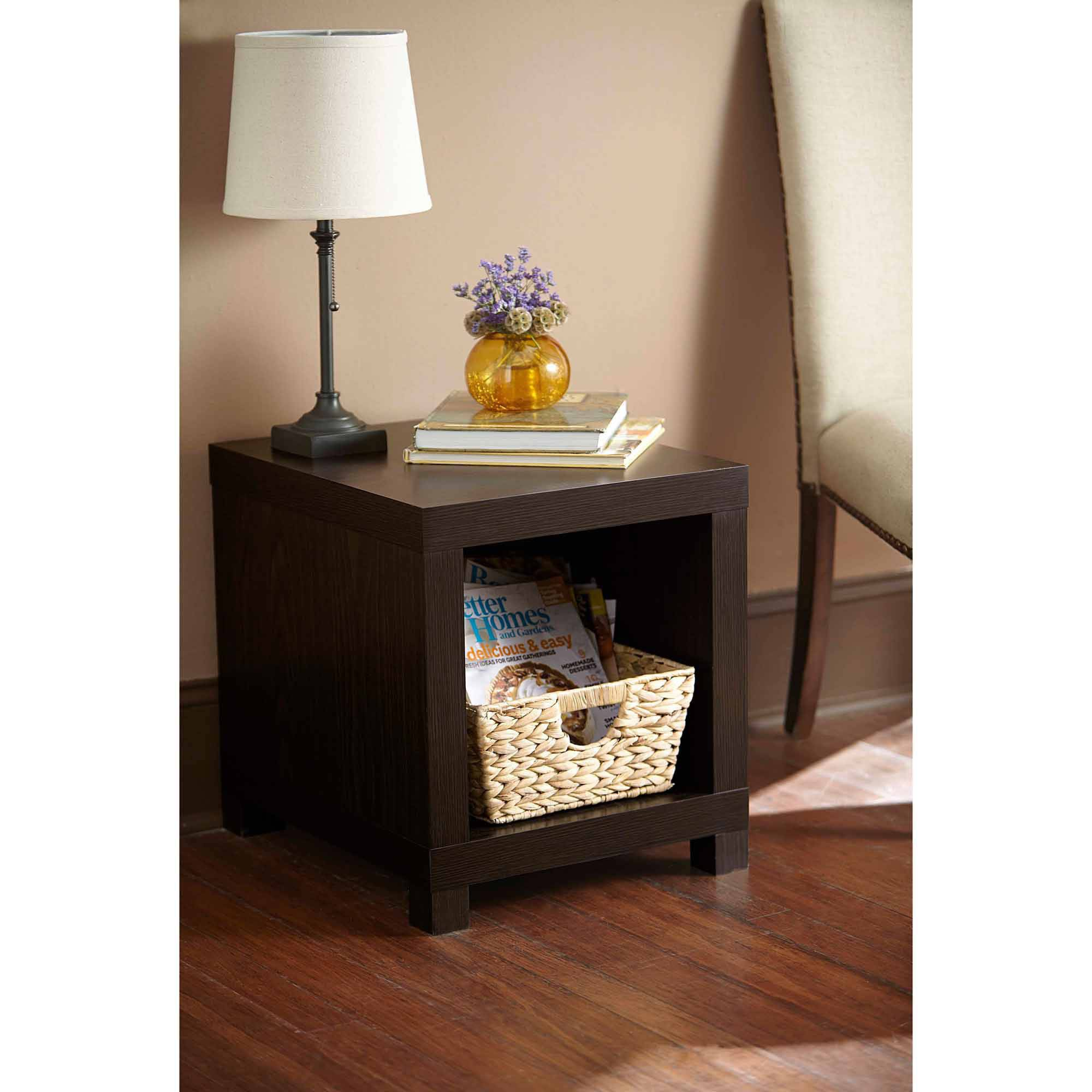 telephone stand espresso tall accent table modern nic corner black counter height dining set west elm console rustic trunk coffee penny furniture hairpin legs whole home accents