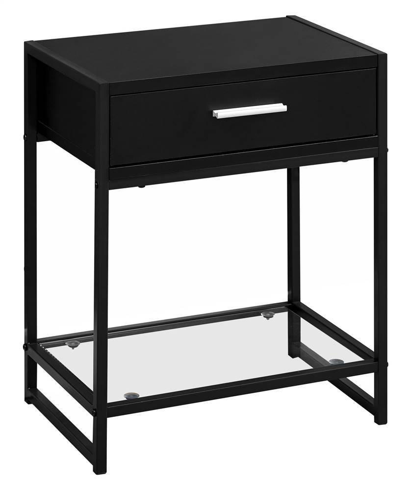 tempered glass accent table black hawthorne top height tables light fixtures off white end furniture couch feet target living room extra tall lamps concrete bench seat bunnings