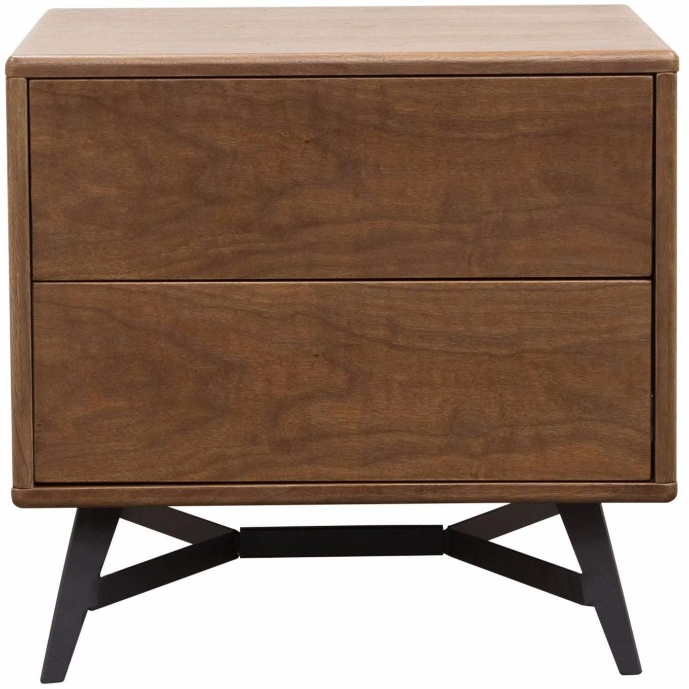 tempo end table with drawer storage walnut case and black powder tachuri geometric front accent brown opalhouse coated legs diamond sofa modern coffee tables toronto round wood