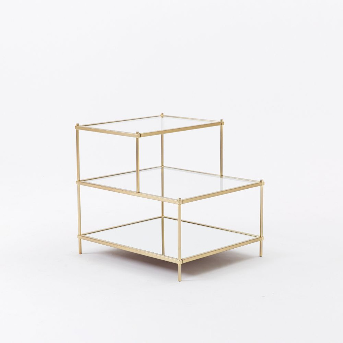 terrace side table west elm media accent round occasional tables with drawers console cupboard gold drum half wall coffee set super slim furniture toronto tall modern lamps