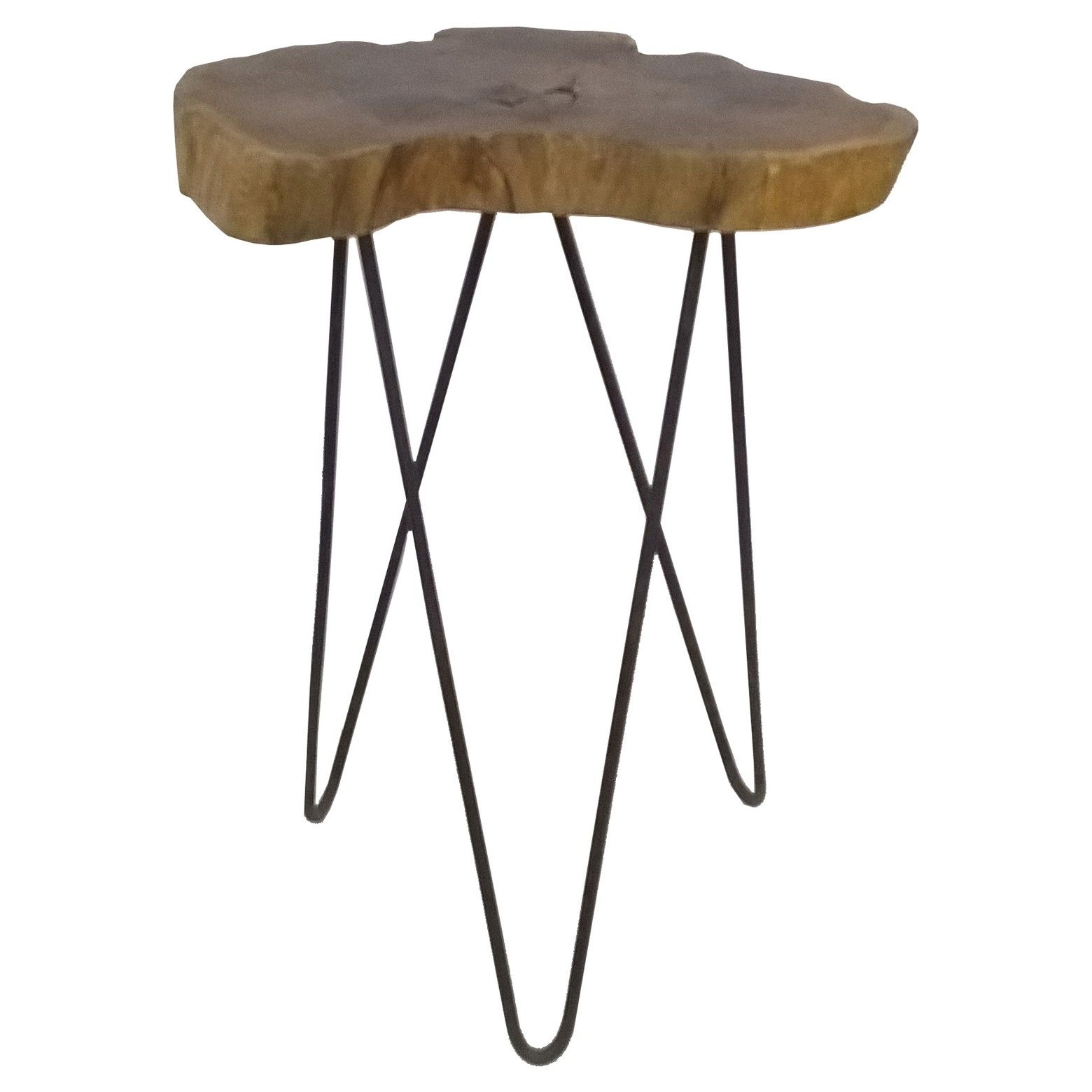 the beauty this live edge accent table from threshold brown how surprisingly versatile equally home rustic farmhouse glam aluminum carpet transition strips tiffany peacock lamp