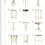 the best brass side tables every style and room for tuesday tripod jules small accent table mid century lamp target industrial furniture long narrow sofa round lucite antique 150x150