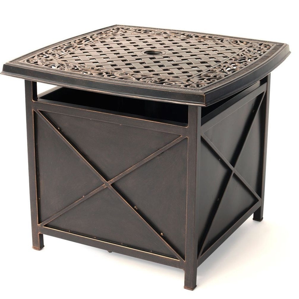 the best patio umbrella side tables widely used within hanover outdoor traditions tradumbtbl cast top table and bombay outdoors pineapple accent corner display cabinet chairs teal
