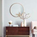 the best target new project thou swell crush blush accent table modern sideboard and round mirror with slipper chair from exterior nautical decor windham furniture bay marble 150x150