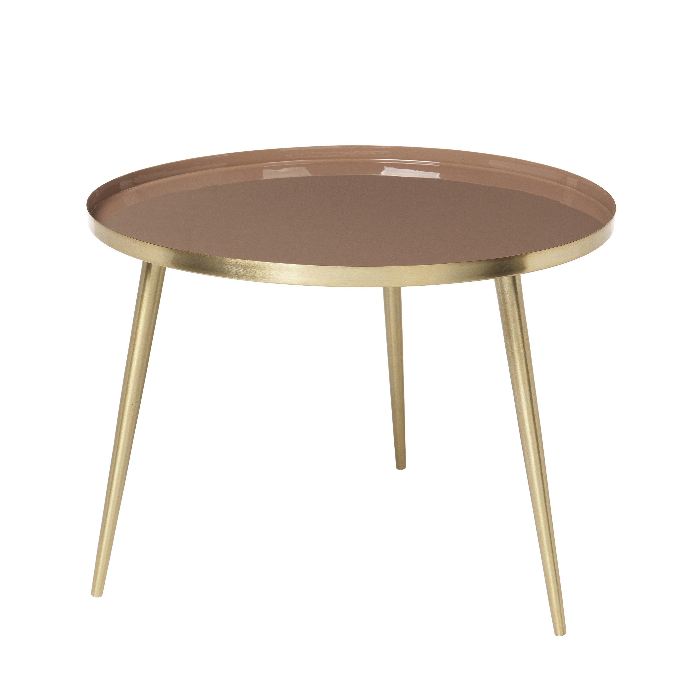 the bowery table brass tan sizes coffee side tables accent painted cabinets mid century replica furniture gold setting corner accents glass top black acrylic matching bedside and