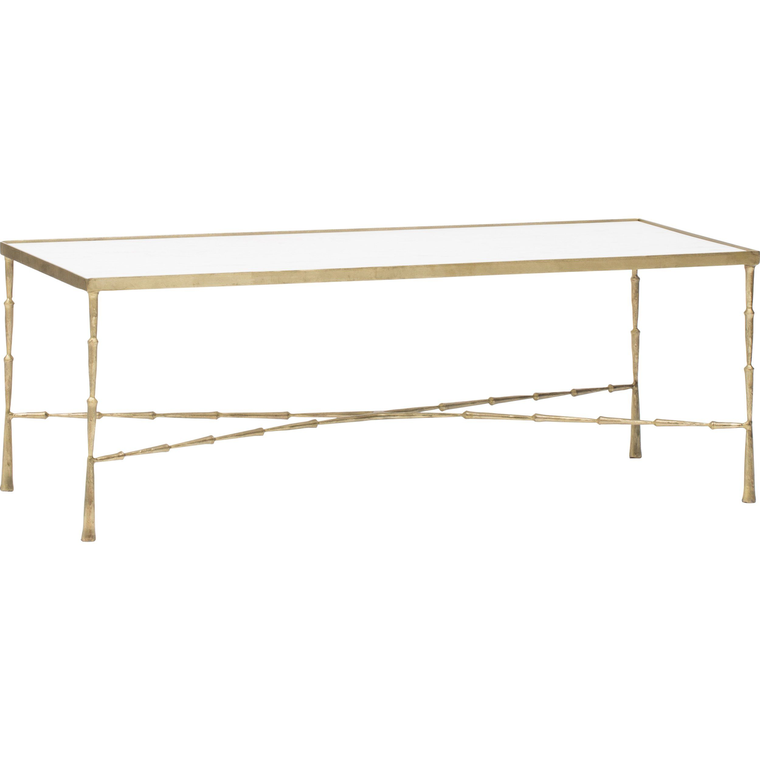 the brass and marble coffee table nate berkus has style class glass agate accent that will make stand out your living room family pottery barn graphers floor lamp small white