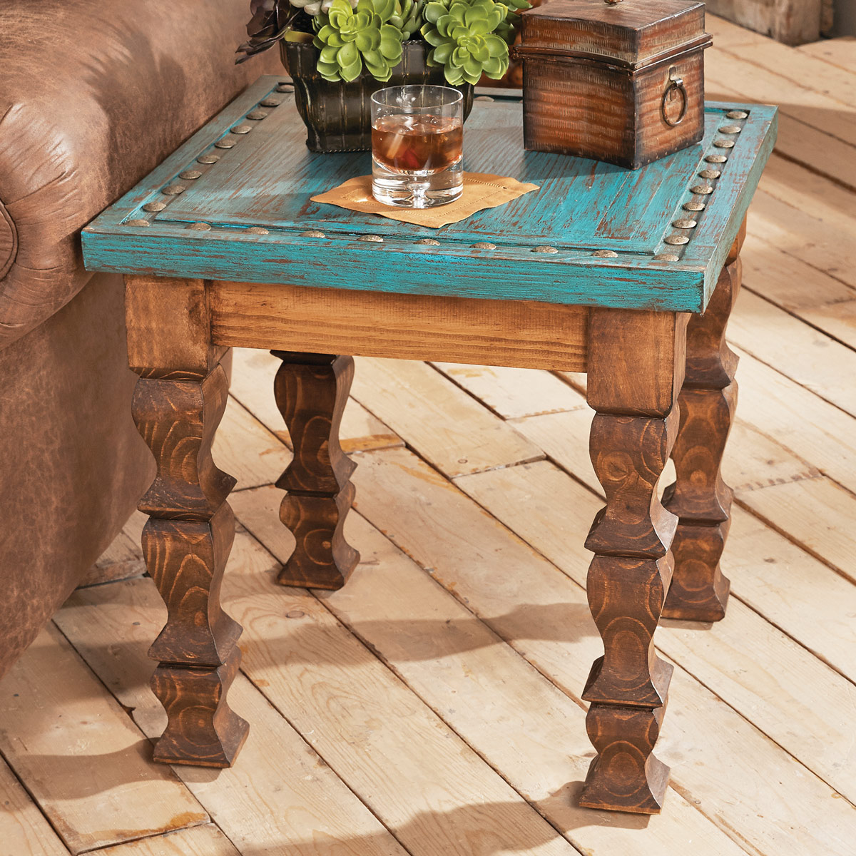 the brick tables perfect real rustic cabin end turquoise silver trails table reclaimed wood plans dining room sets inch night stand half circle ethan allen country french round
