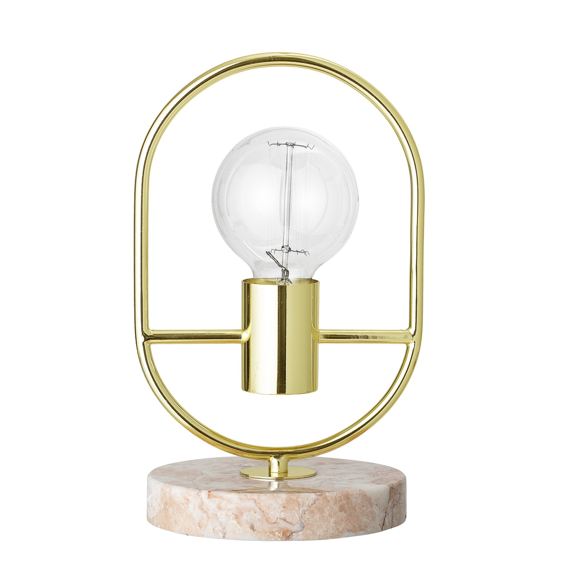 the broome table lamp gold finish pink marble accent furniture teton pottery barn kitchen dinner lounge room side tables round glass dining and chairs west elm pendant solid
