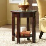the day bronson expresso accent table comfy abode wbl espresso cool round tablecloths chess side beach themed floor lamps black half moon console small tall coffee antique blue 150x150