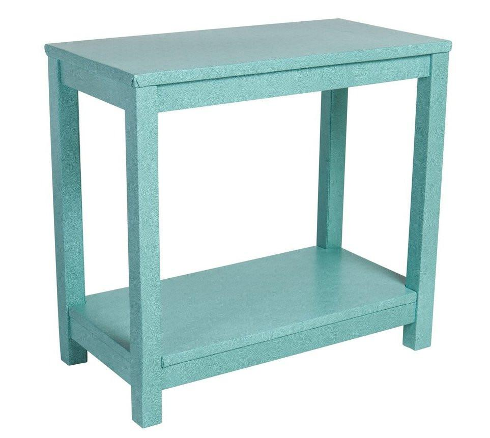the draper accent table society social img aqua blue gold mirrored nightstand round plastic tablecloths with elastic treasure trove end patio dining clearance decor design