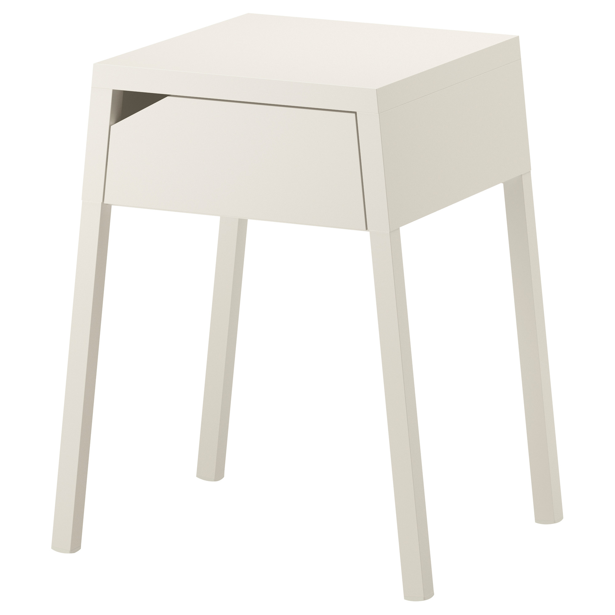 the fantastic amazing ikea white metal nightstand gallery hotxpress cool unpolished small side table with drawer and single fine selje bedside four legs support design ideas