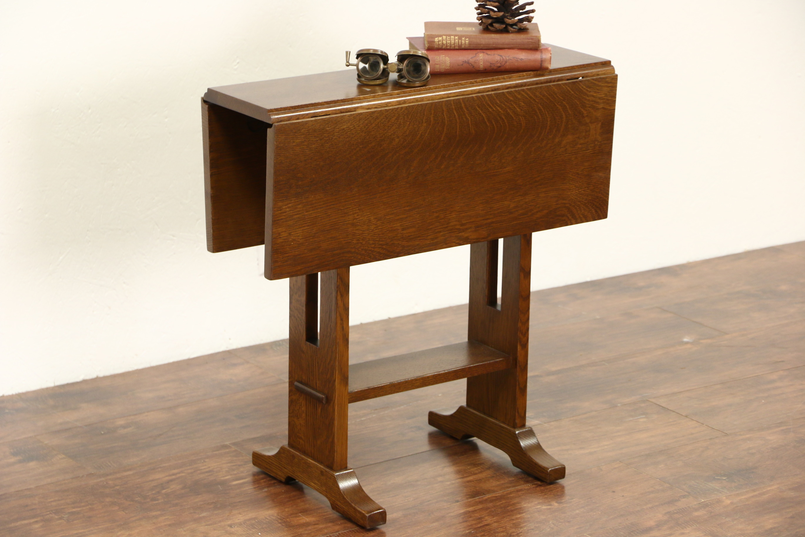 the fantastic best drop leaf end table idea jockboymusic sold stickley signed craftsman oak vintage chairside coffee accent pieces small square compact furniture for spaces gold