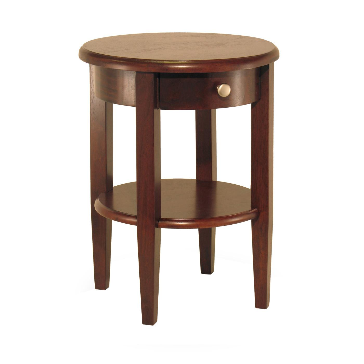 the fantastic free small round end table with drawer ture accent sevenstonesinc brown varnished walnut wood durham legs designs pier one glass tops folding bedside plastic patio