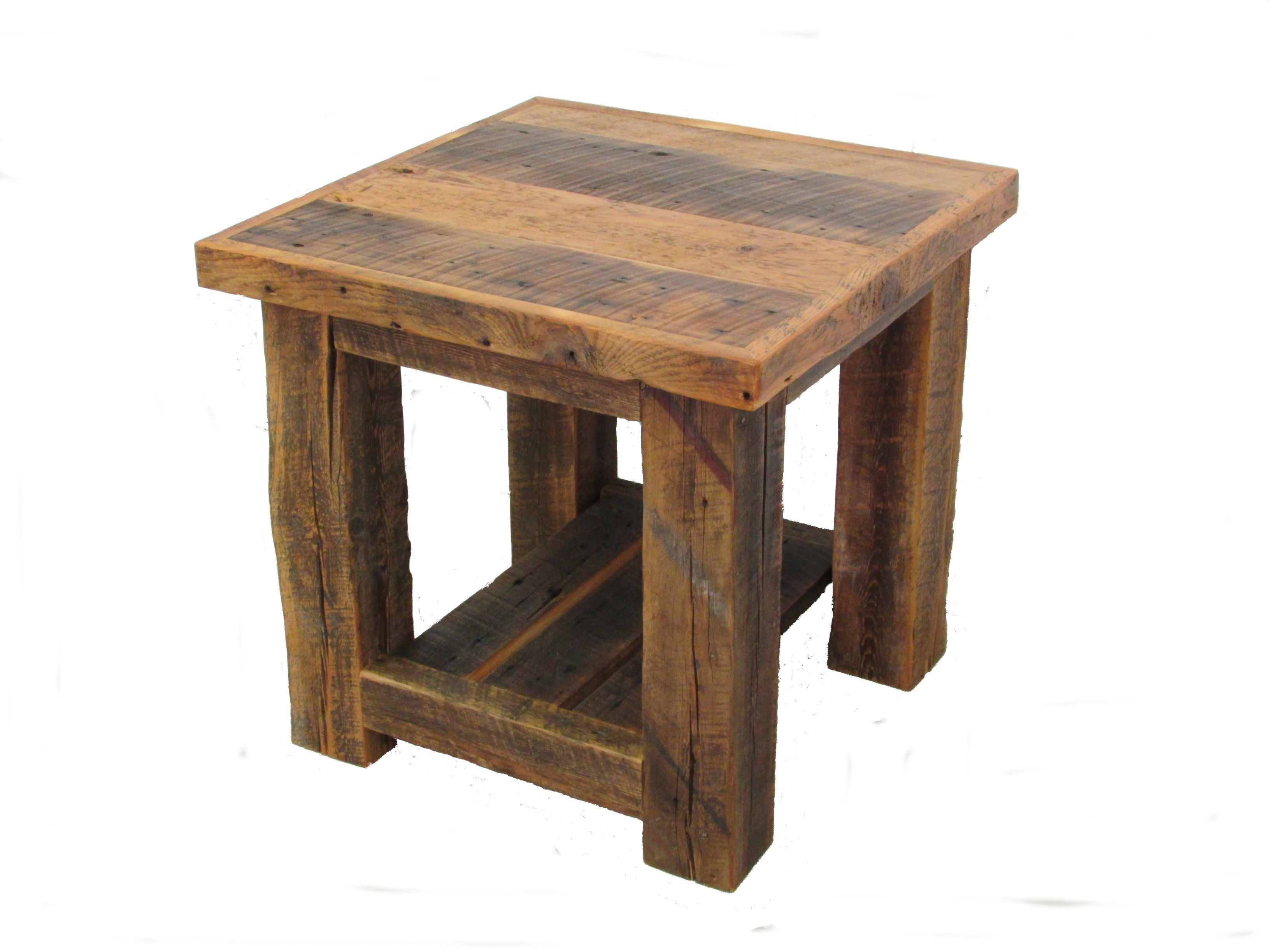 the fantastic round metal wood end tables jockboymusic reclaimed barn post table white cedar barnwood clipped nest coffee console and set light gray nightstand glass design oak