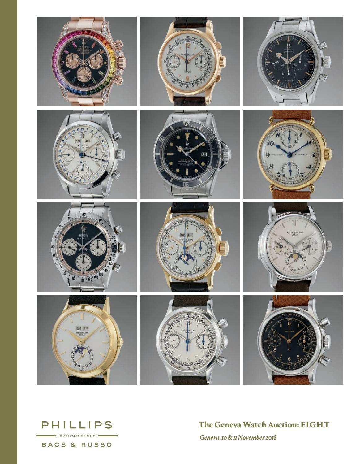 the geneva watch auction eight catalogue phillips issuu page lovell accent table target marble stone dining end with drawer and door counter height kitchen chair sets small