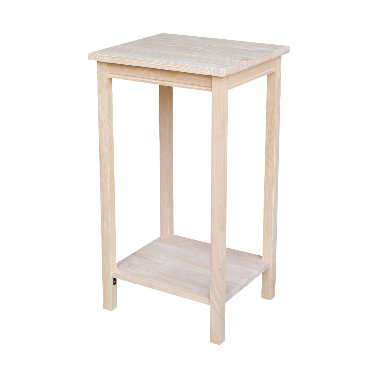 the gray barn moonshine unfinished accent table free shipping solid parawood portman today target patio mission end hourglass spring tablecloth dinner napkins small round wood