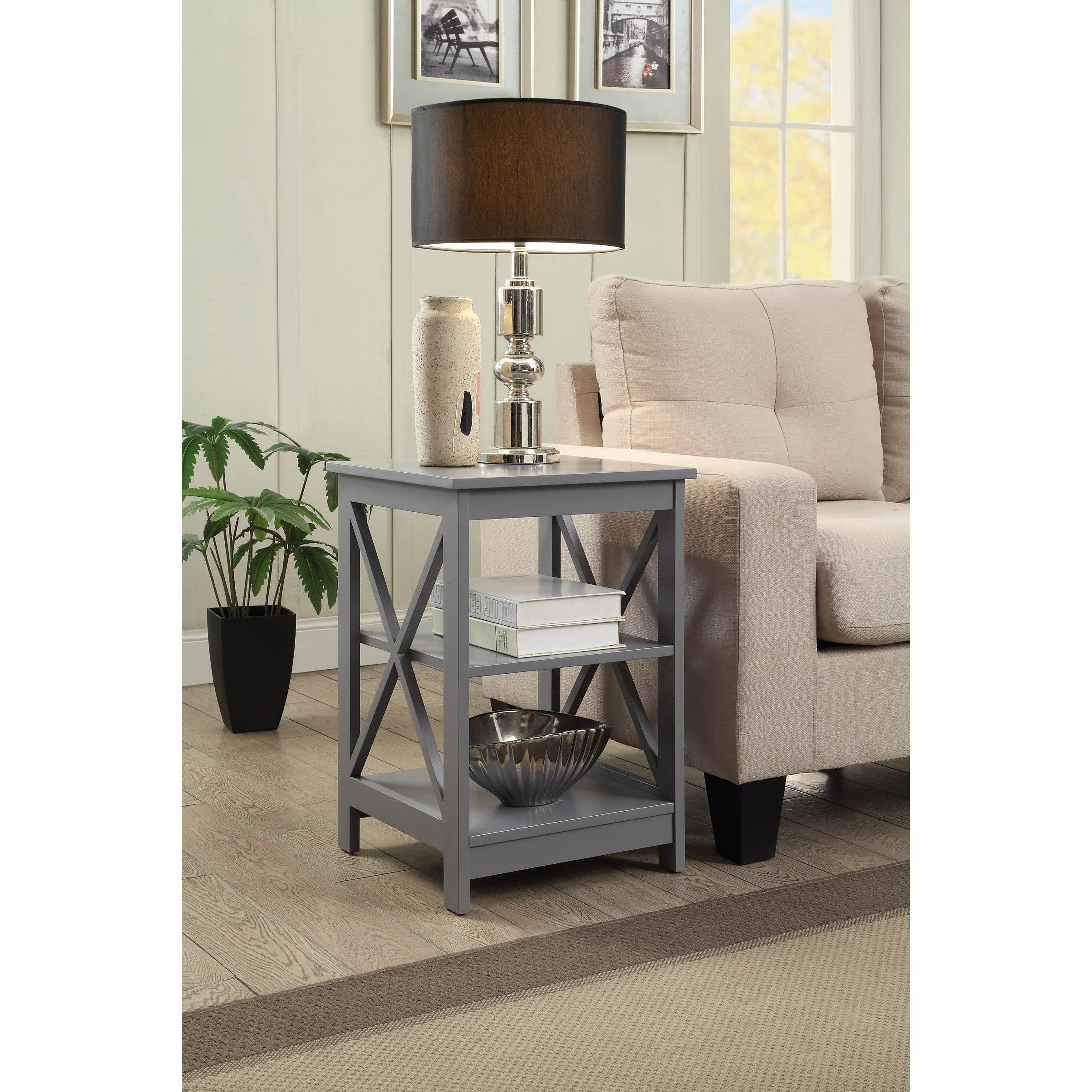the gray barn pitchfork base end table black products accent grey terence conran furniture round glass top bedside tile and wood floor transition small oak tables nautical pendant