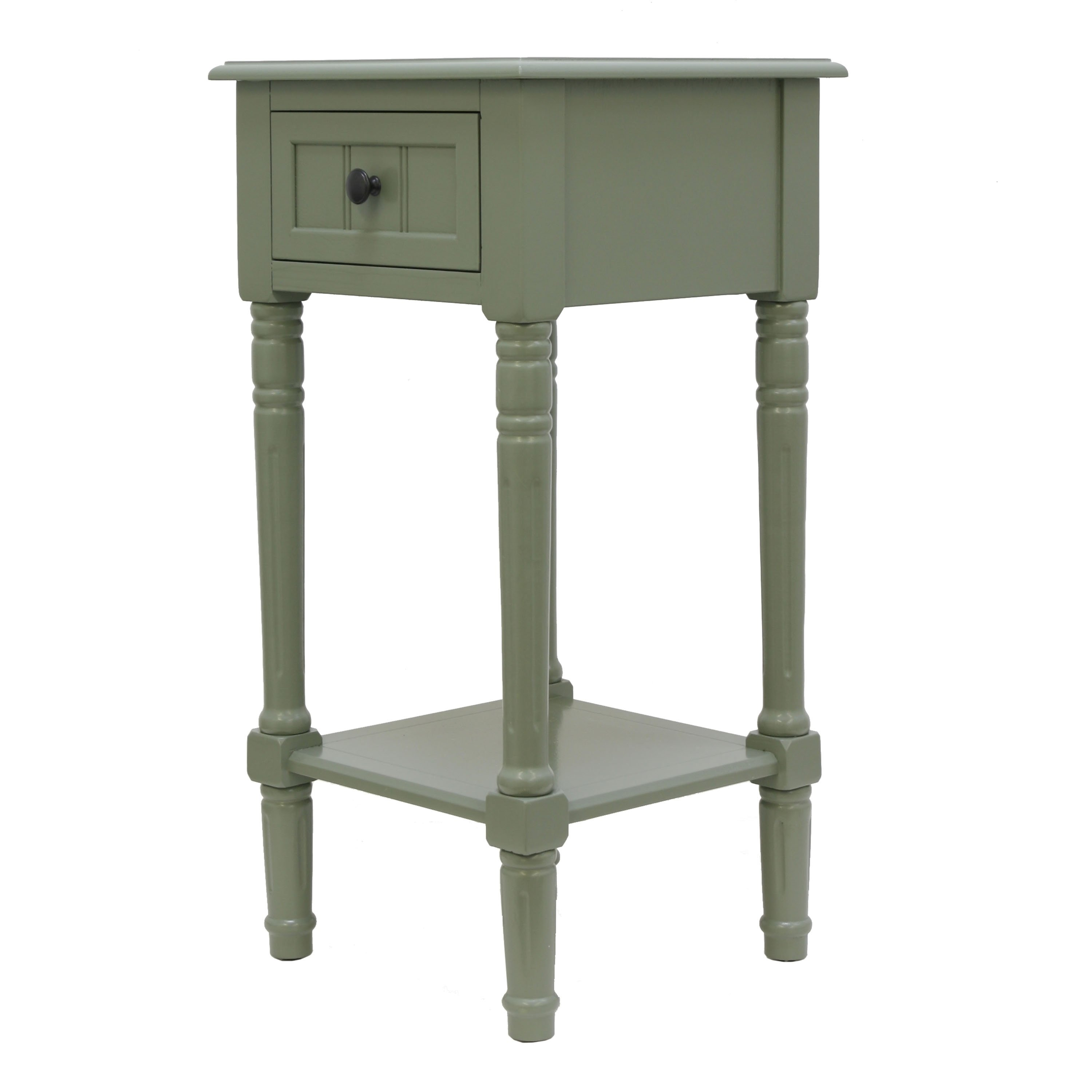 the gray barn robert one drawer square accent table maison rouge provins free shipping today silver tray narrow wine rack small occasional chairs chrome chandelier buffet server
