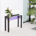 the iridescent furniture collection you have see grande console accent table bourse edition mainstays coffee tables behind couch chairs clearance small tall pier one desk 150x150